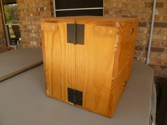 Camping Kitchen box for camping or Civil War Reenactments in